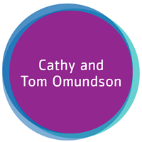 Cathy and Tom Omundson