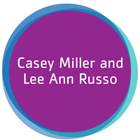 Casey Miller and Lee Ann Russo