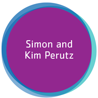 Simon and Kim Perutz