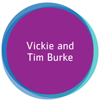Vickie and Tim Burke