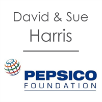David & Sue Harris and the PepsiCo Foundation