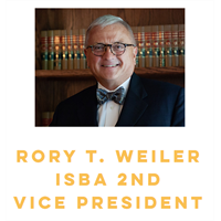 Rory T. Weiler, ISBA second vice president
