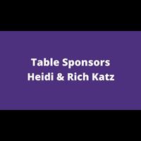 Heidi & Rich Katz