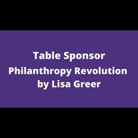 Philanthropy Revolution by Lisa Greer
