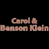 Carol & Benson Klein
