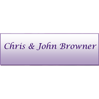 Chris and John Browner