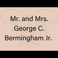 Mr. and Mrs. George C. Bermingham Jr.