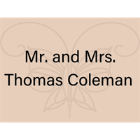Mr. and Mrs. Thomas Coleman