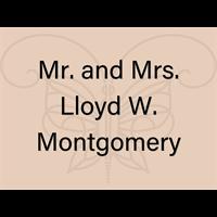 Mr. and Mrs. Lloyd W. Montgomery