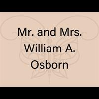 Mr. and Mrs. William A. Osborn