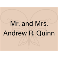 Mr. and Mrs. Andrew R. Quinn
