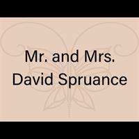 Mr. and Mrs. David Spruance