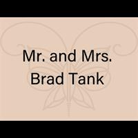 Mr. and Mrs. Brad Tank