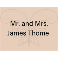 Mr. and Mrs. James Thome