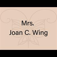 Mrs. Joan C. Wing