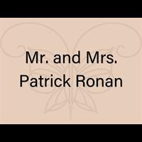 Mr. and Mrs. Patrick Ronan