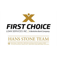 First Choice Loans-Hans Stone team