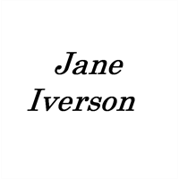 Jane Iverson Table